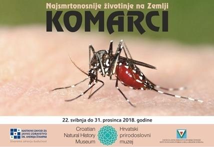 Izložba 'Komarci – najsmrtonosnije životinje na Zemlji' u HPM-u