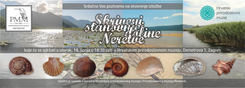 Izložba 'Skriveni stanovnici doline Neretve' u HPM-u