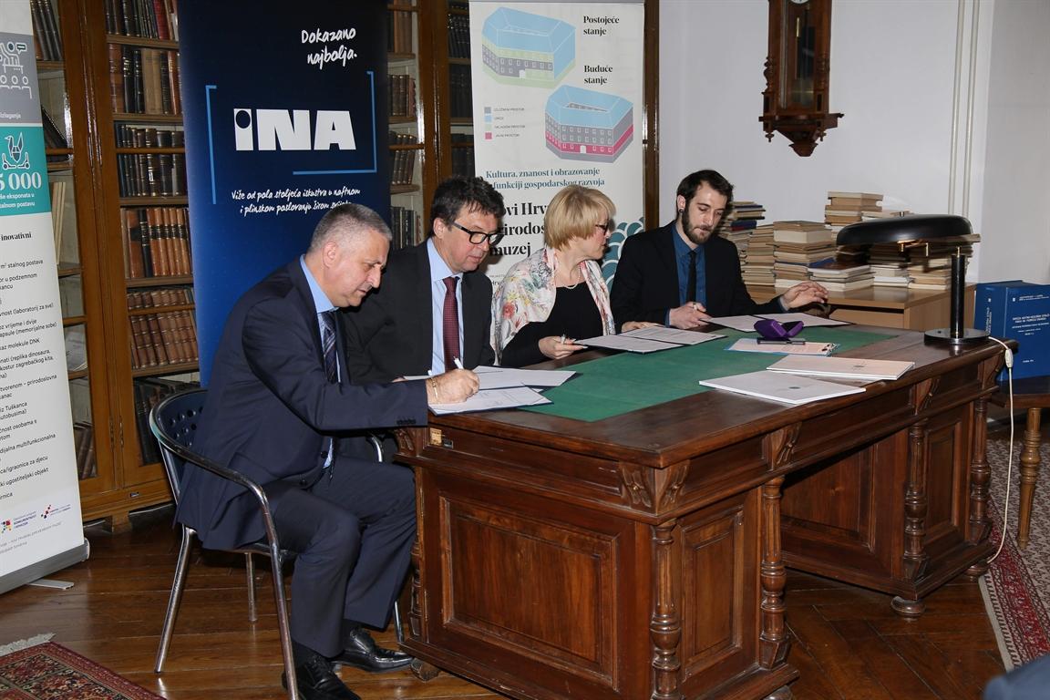 Svečana primopredaja elaborata 'Sinteza naftno-geoloških pojava ugljikovodika na području Dinarida'