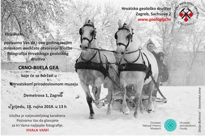 Izložba 'Crno-bijela Gea' u Hrvatskom prirodoslovnom muzeju