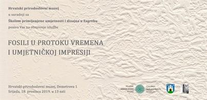 Izložba 'Čarobni svijet fosila' u Hrvatskom prirodoslovnom muzeju